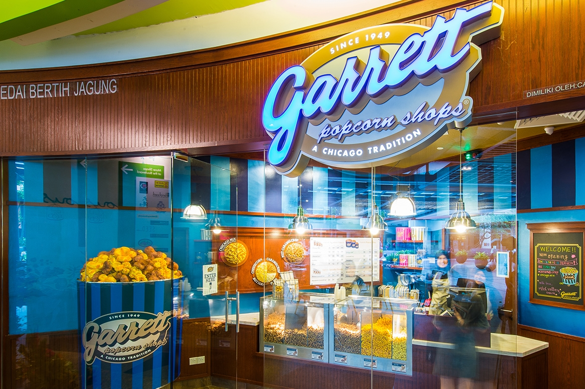 Garrett popcorn shops mid valley megamall for 76 salon mid valley