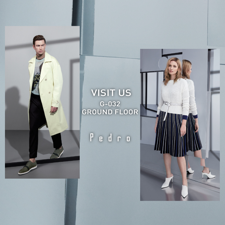 5dd090d7109 Mix up your wardrobe with versatile pieces from Pedro s Winter 2018  collection. Take a look at the range for him and her in-store today.