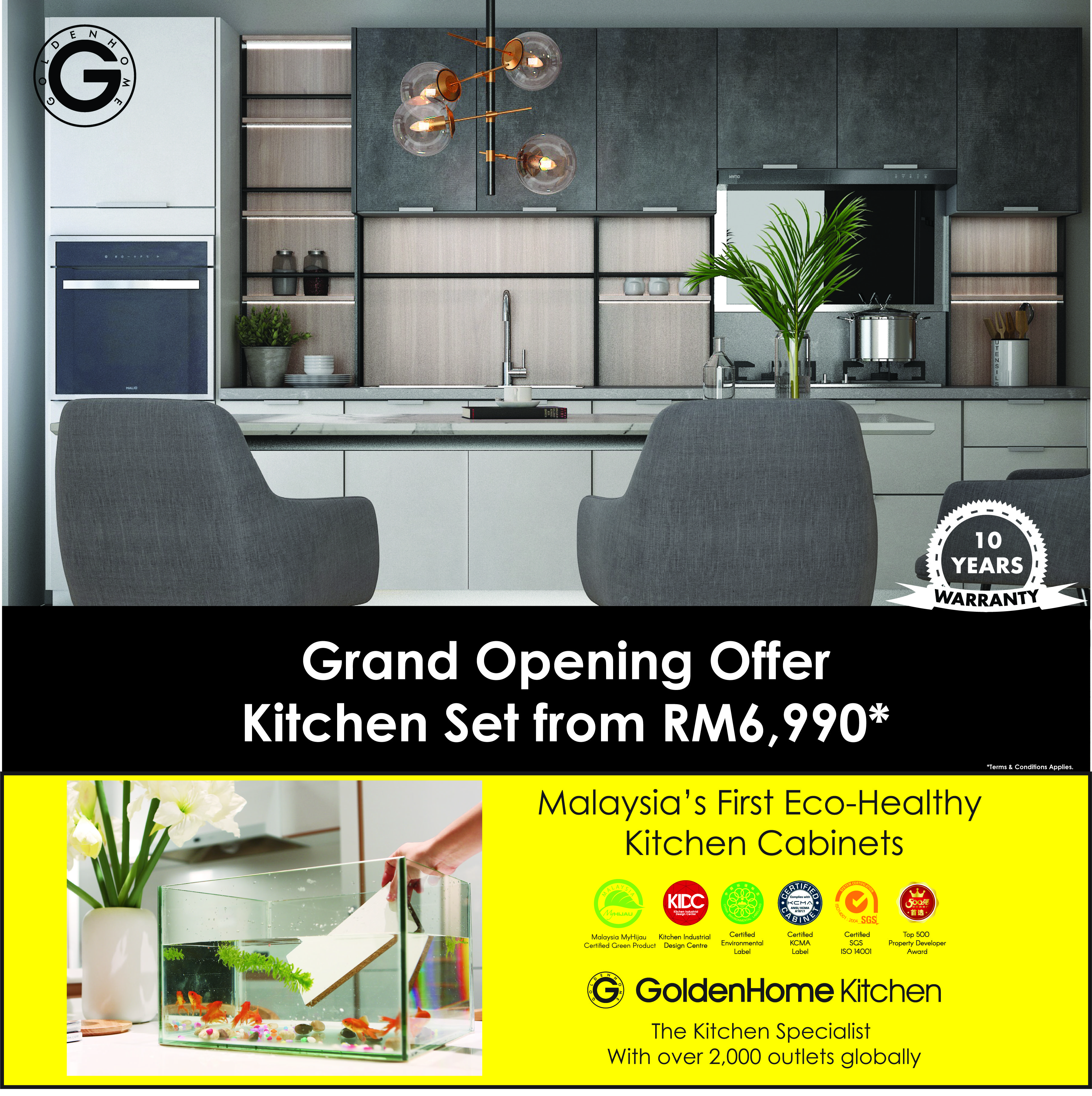 GoldenHome Kitchen