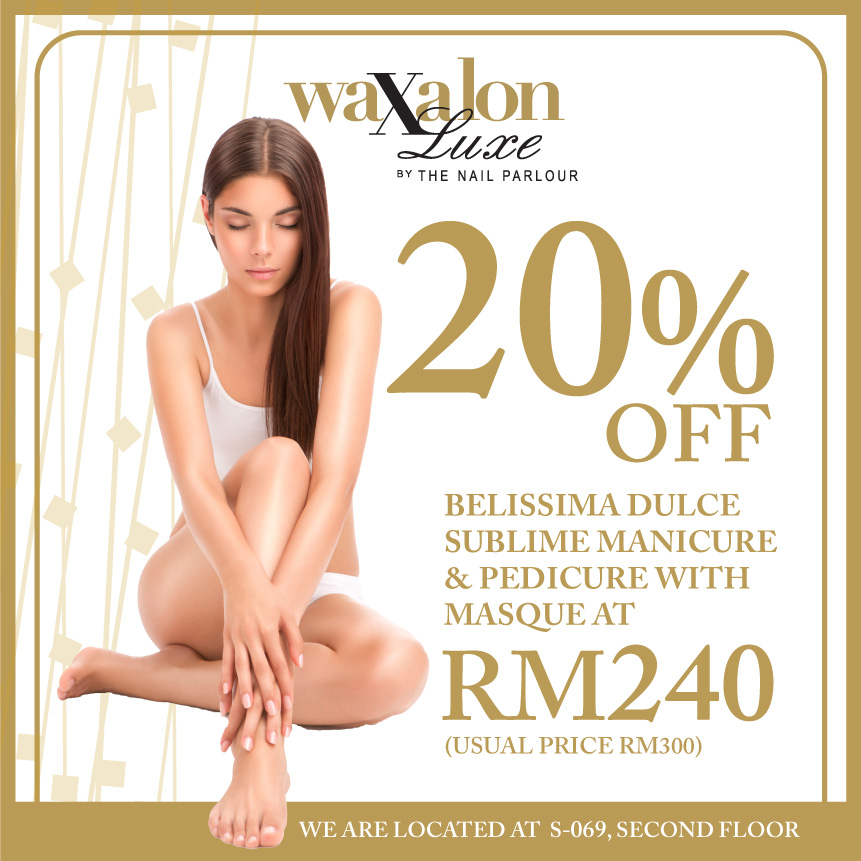 WAXALON LUXE by The Nail Parlour