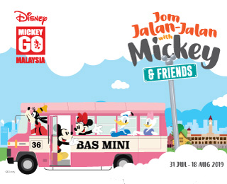 Jom Jalan-Jalan with Mickey
