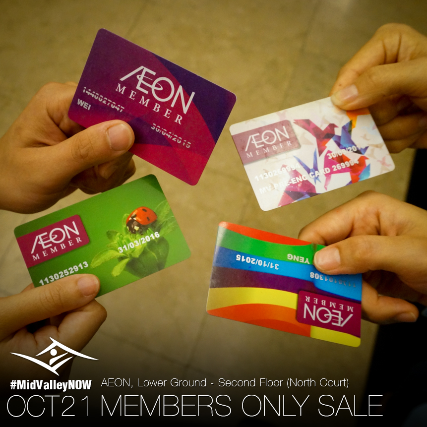 Aeon Member Day Oct 2014