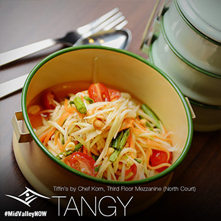 Tiffin Papaya Salad