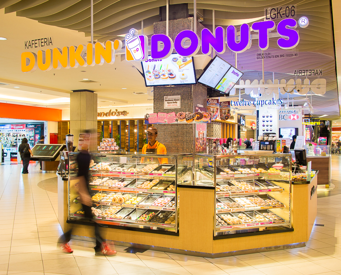 Dunkin Donuts | Mid Valley Megamall